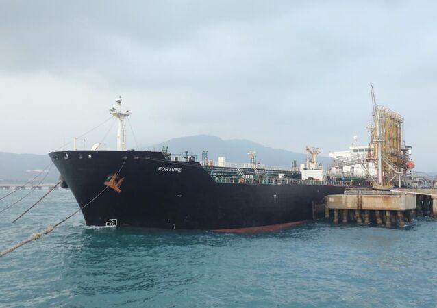 Le pétrolier iranien Fortune au Venezuela