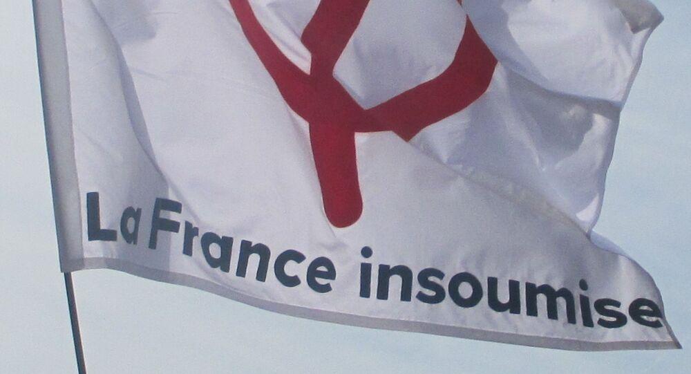 Drapeau de La France insoumise
