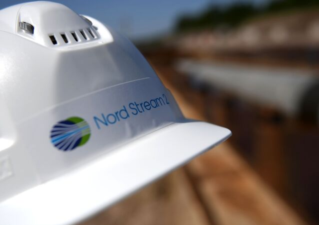 Chantier du gazoduc Nord Stream 2 (archive photo)