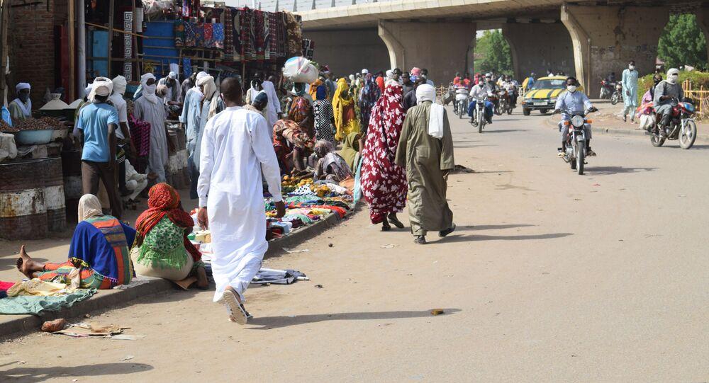 Le marché de Diguel à N'Djamena au Tchad, une semaine après la réouverture