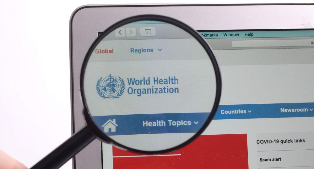Le site internet de l'Organisation mondiale de la santé (OMS)