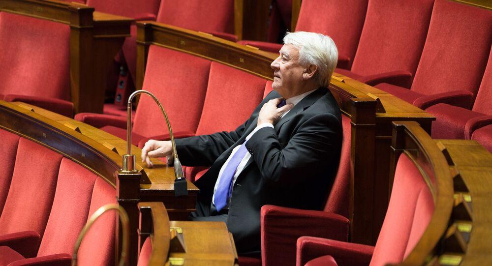 Claude Goasguen à l'Assemblée nationale