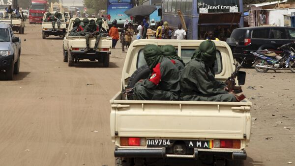 Des groupes armés à Gao, Mali - Sputnik France