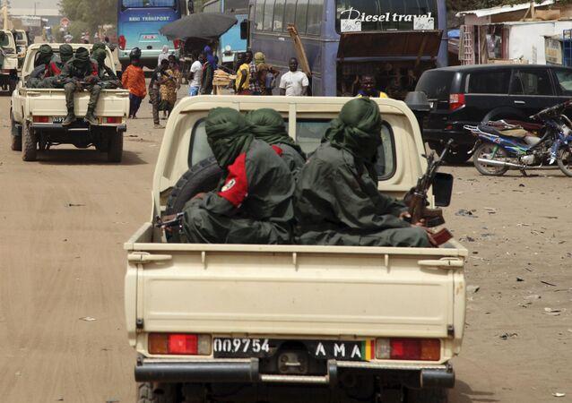 Des groupes armés à Gao, Mali