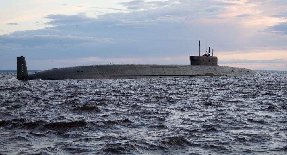 sous-marin nucléaire de 4e génération Prince Vladimir