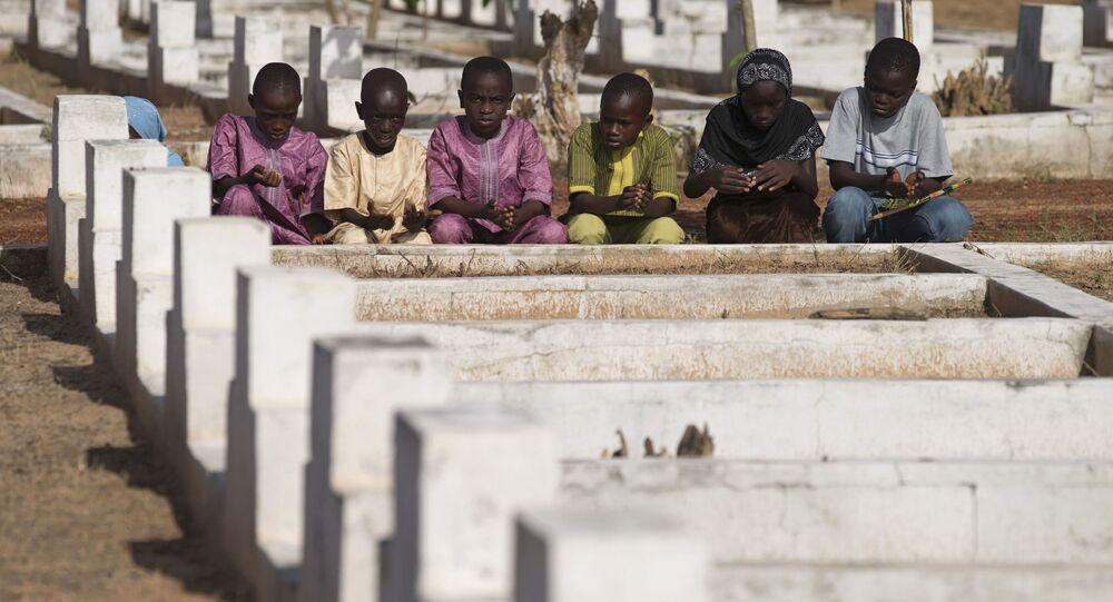 Le cimetière de Joola à Mbao, au Sénégal.