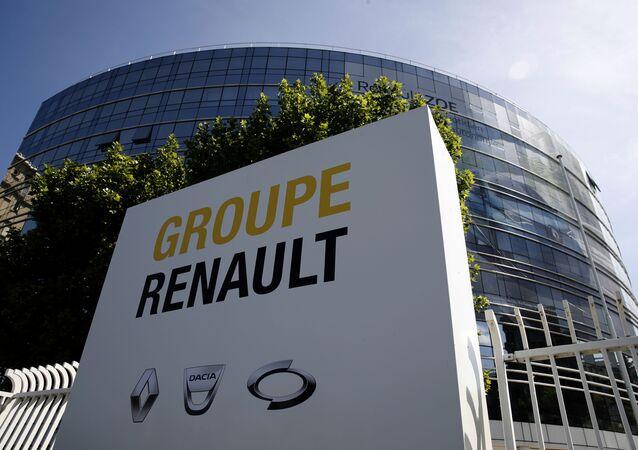 Le bâtiment du groupe Renault à Boulogne-Billancourt
