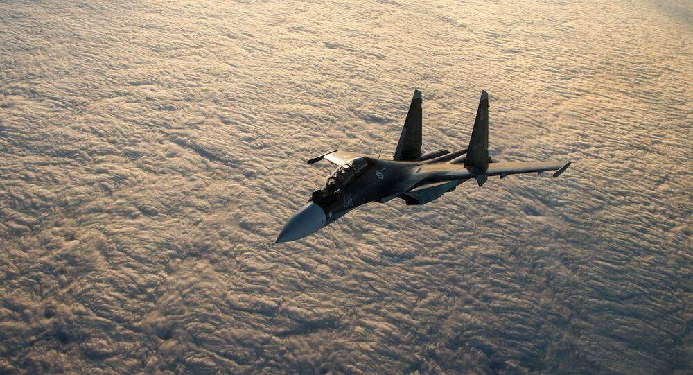 Un chasseur multirôle Su-30SM
