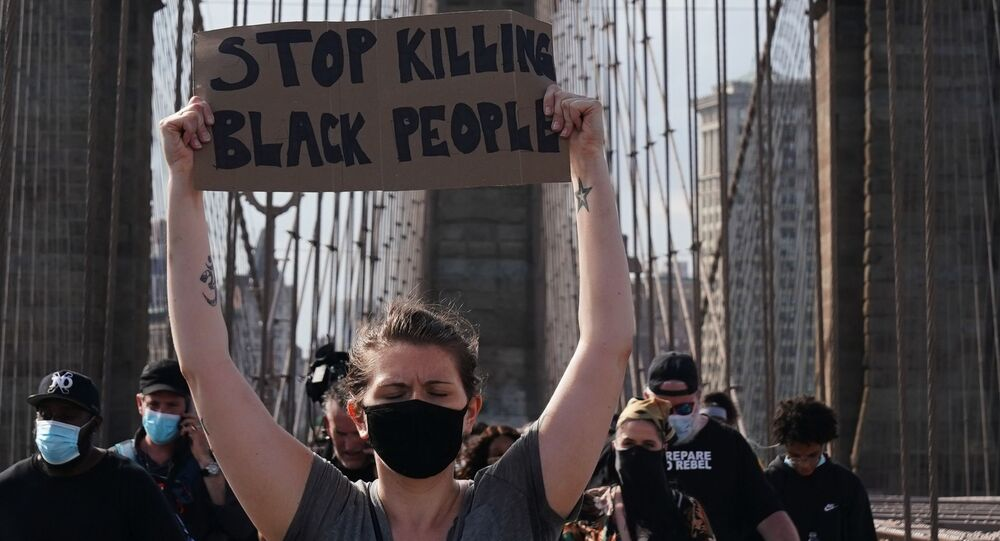 Protestations à New York après la mort de George Floyd