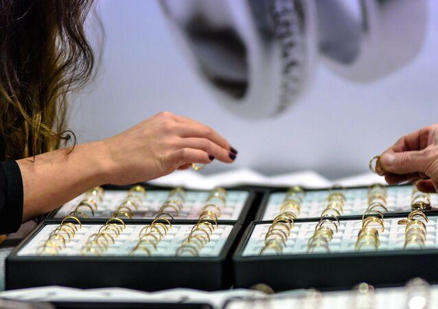 Une boutique de bijoux (image d'illustration)