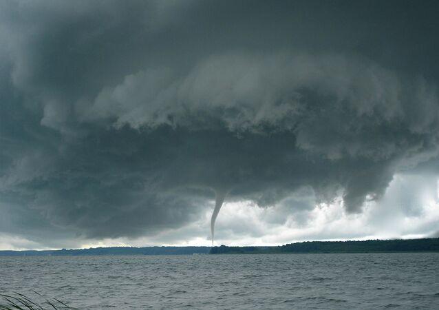 Une tornade / image d'illustration