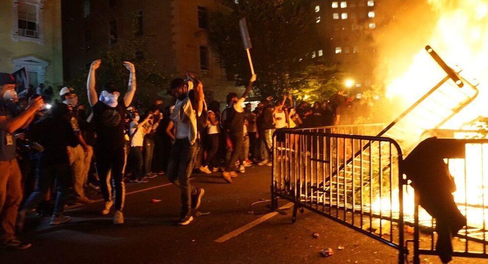Des émeutes à Washington