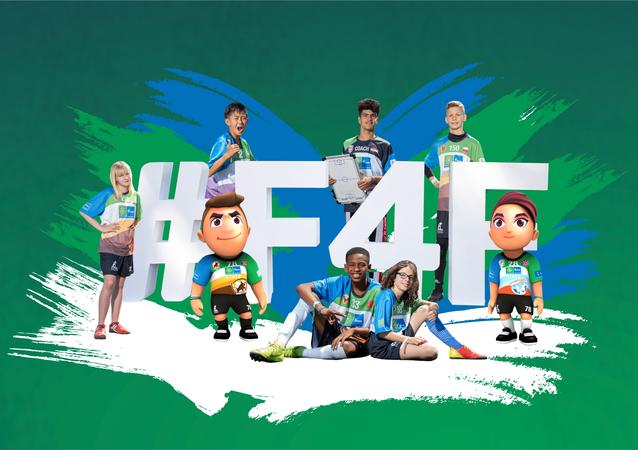 «Le Football pour l'amitié» (Football for Friendship, F4F) est un programme social international annuel au bénéfice des enfants