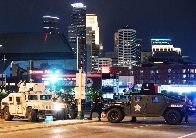 Violences urbaines aux USA suite à la mort de George Floyd