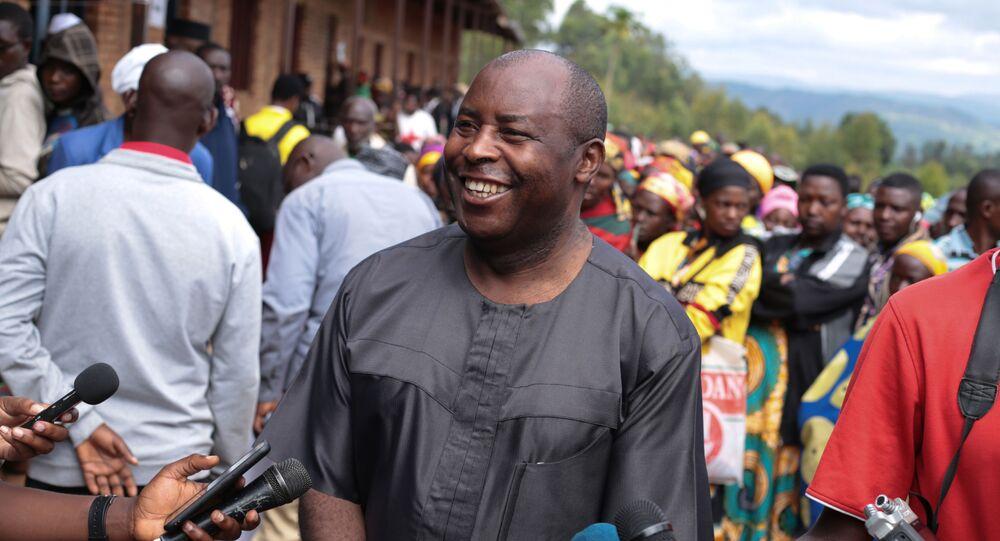 Évariste Ndayishimiye