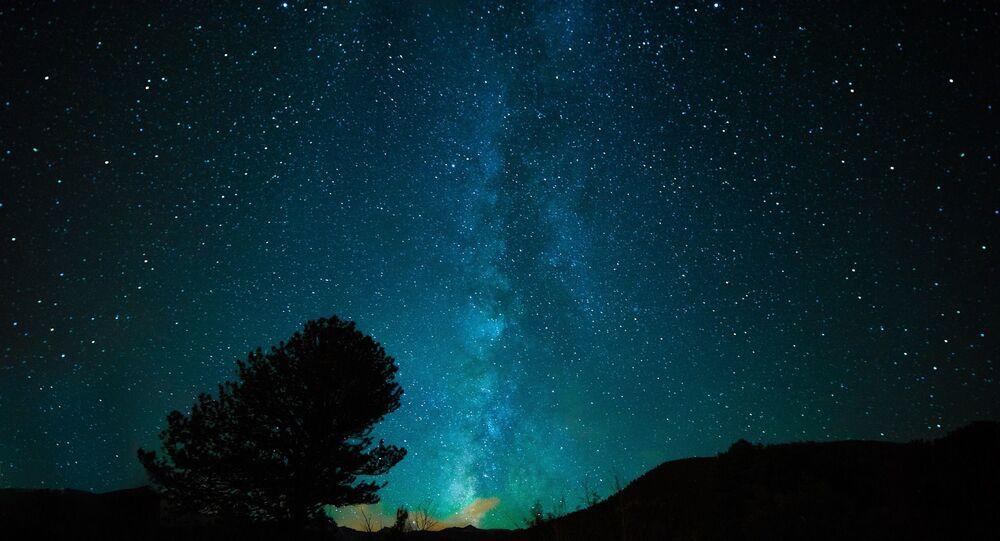 Ciel étoilé, image d'illustration