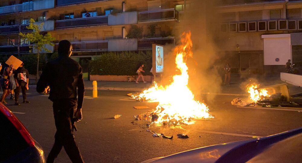 Tensions lors de la manifestation Justice pour Adama Traoré, 2 juin 2020