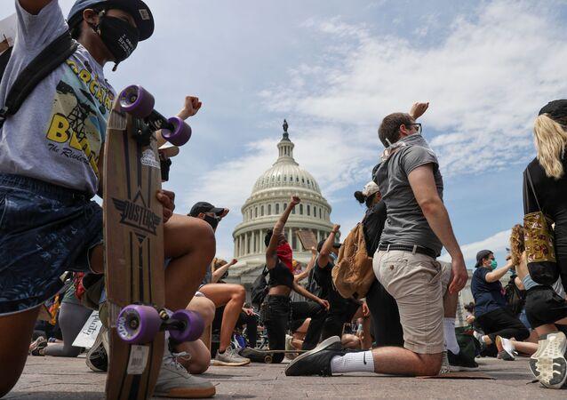 Manifestations aux USA après la mort de George Floyd