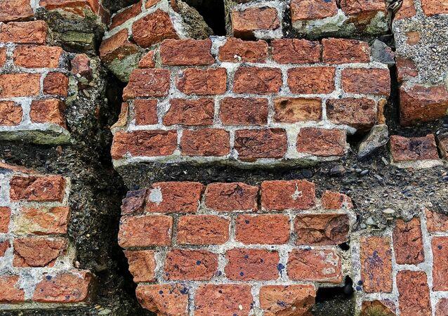 Un mur cassé