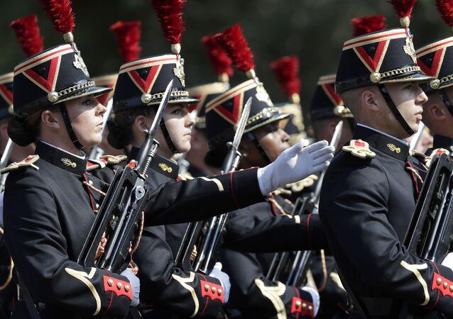 le défilé militaire du 14-Juillet, image d'archives