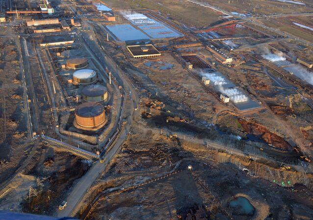 Déversement de produits pétroliers à Norilsk