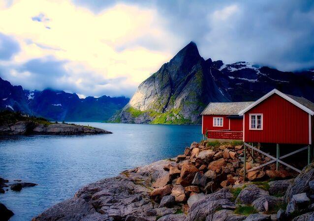 Une maison en Norvège