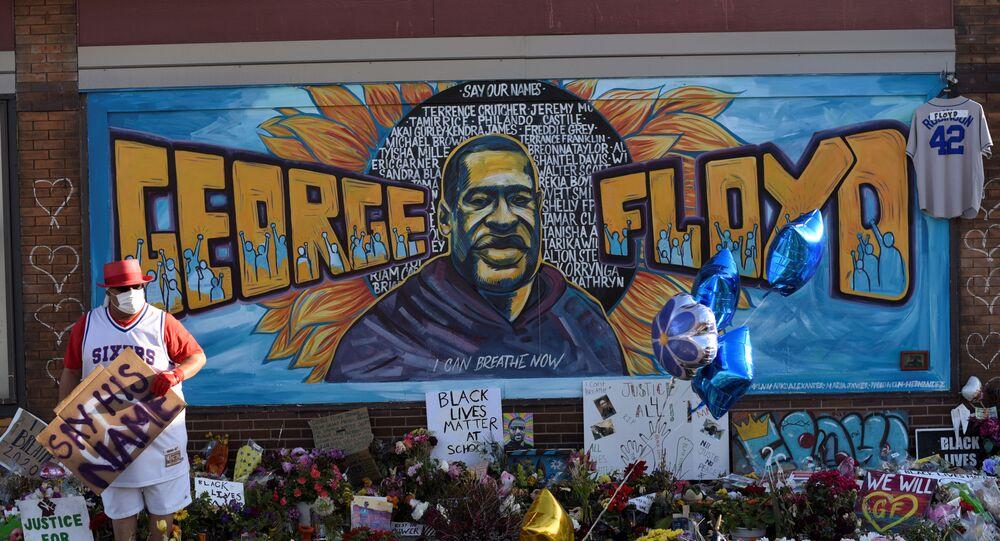 Mémorial pour George Floyd