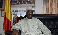 Saleh Abdelaziz Damane, maire de N'Djamena, capitale tchadienne