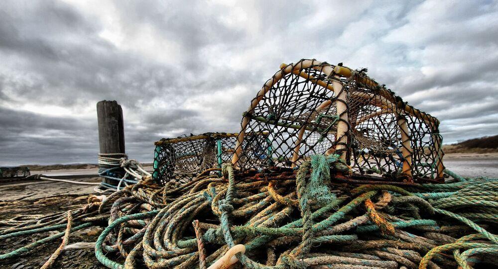 Matériel de pêche (image d'illustration)