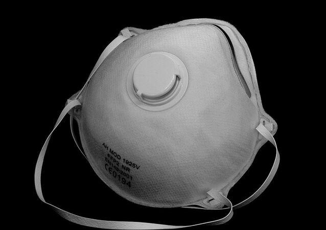 Un masque de protection, image d'illustration
