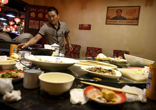 Un restaurant en Chine