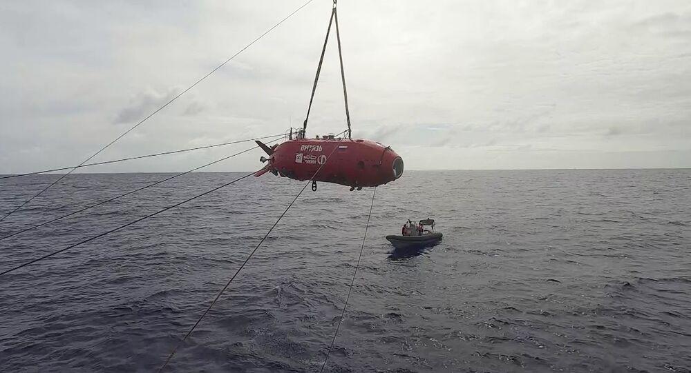 Engin sous-marin autonome russe Vitiaz