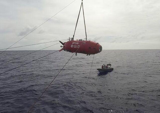 Le robot sous-marin russe Vitiaz