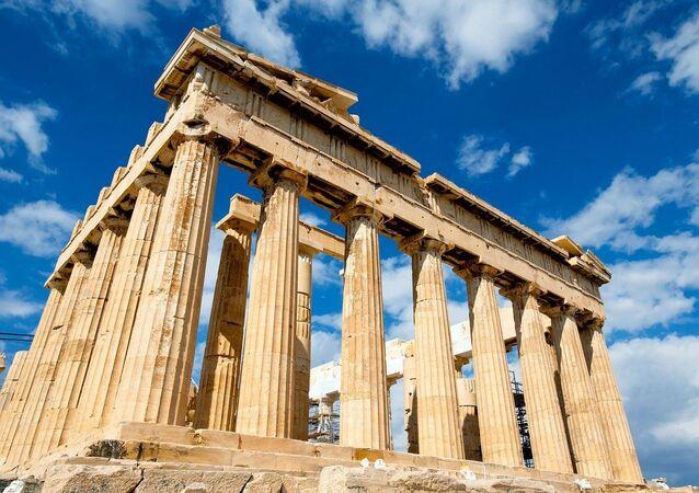 panthéon grec, image d'illustration