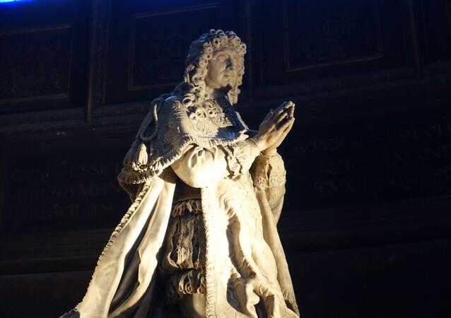 Tombe de Jean-Baptiste Colbert à l'église Saint-Eustache à Paris
