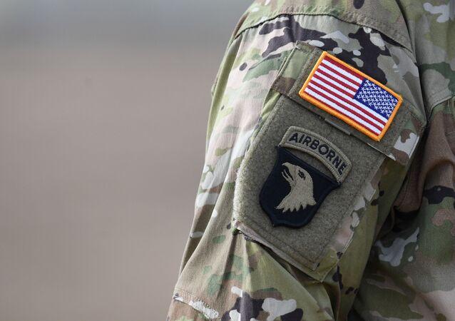 un soldat lors d'un exercice militaire Dynamic Front 18 à Grafenwoehr, en Allemagne, image d'illustration