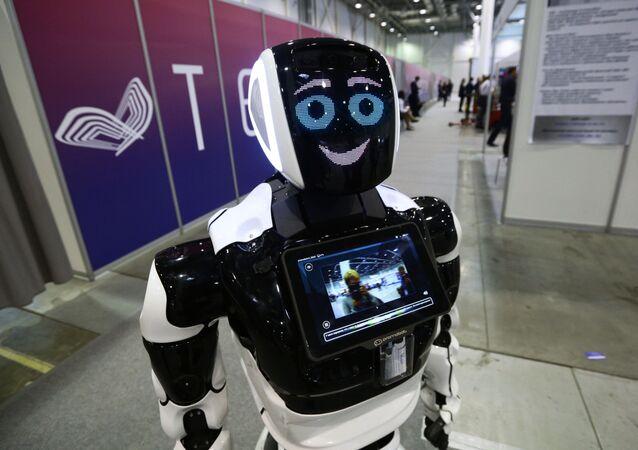 Un robot russe de la société Promobot