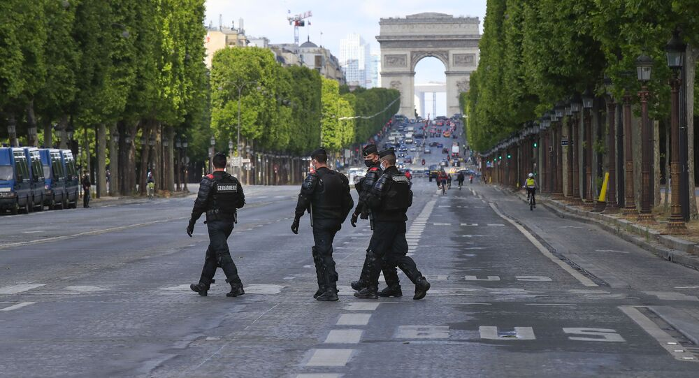 Des gendarmes à Paris (photo d'archives)