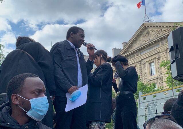 Hommage solennel à George Floyd à Paris, le 9 juin