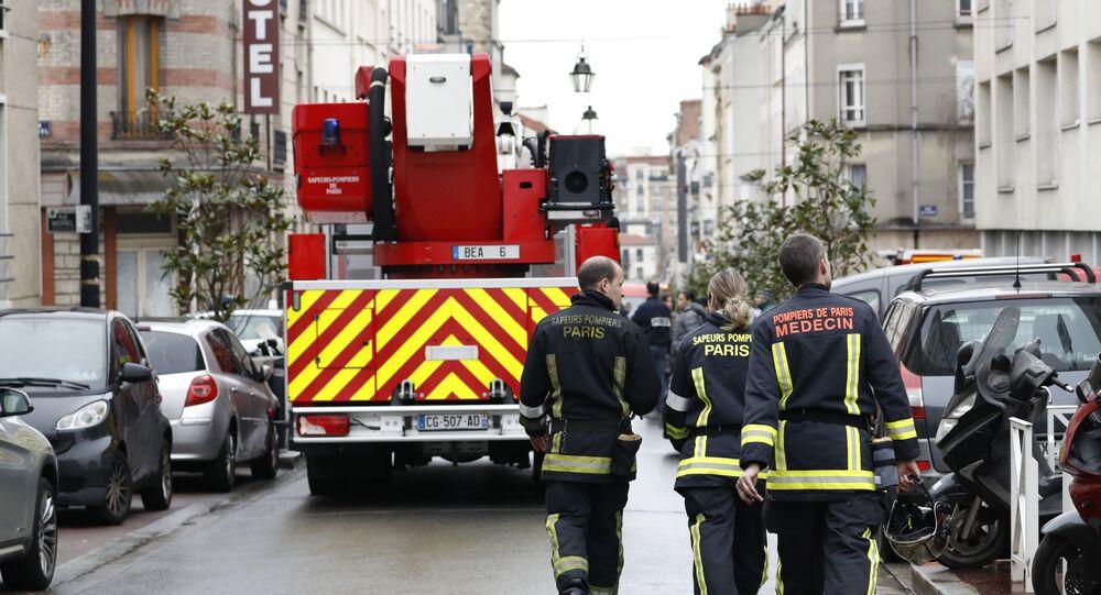 Pompiers de Paris (archive photo)