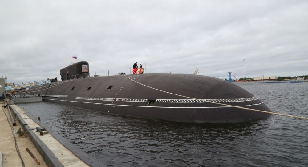 Le sous-marin nucléaire russe Prince Vladimir