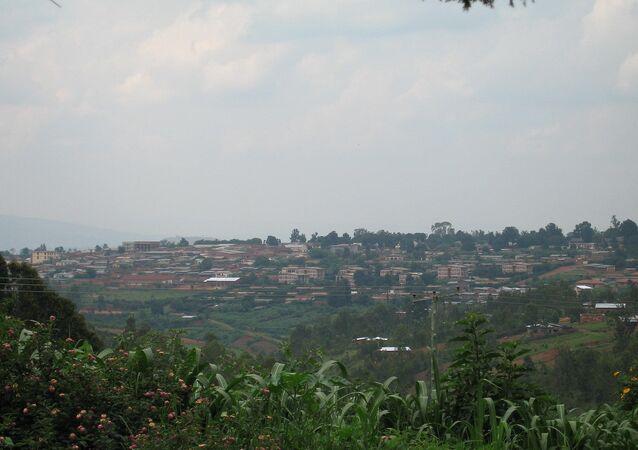 La capitale burundaise Gitega