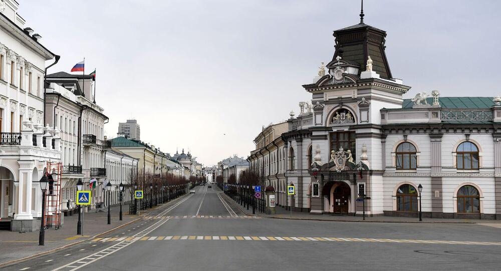 La ville de Kazan