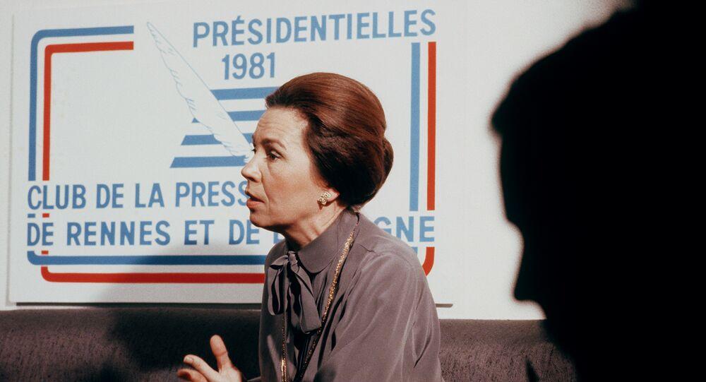Marie-France Garaud en 1980