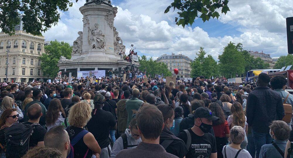 Une nouvelle journée de mobilisation contre le racisme à Paris, 13 juin 2020