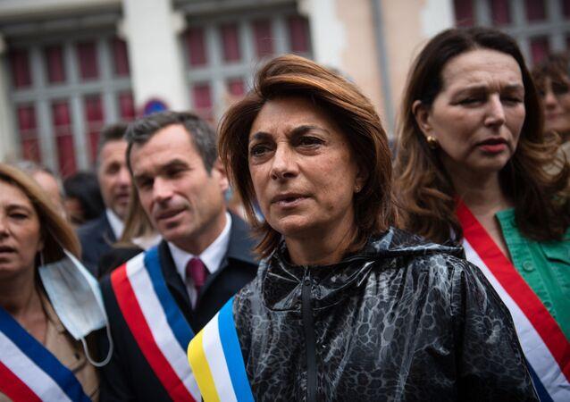 Candidate du parti Les Républicains pour les prochaines élections municipales à Marseille
