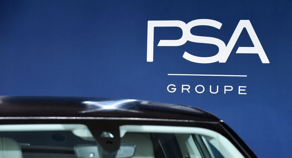Logo du groupe PSA