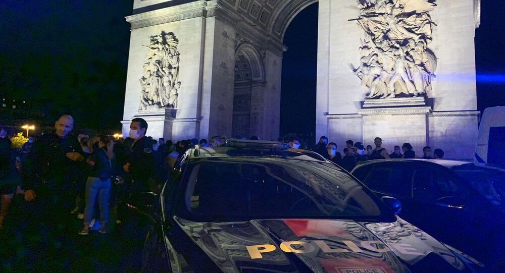 Action de policiers, le 13 juin 2020
