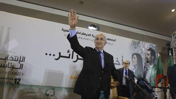 Abdelmadjid Tebboune - Sputnik France