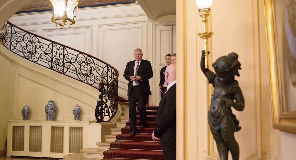 L'ambassadeur de Russie en France